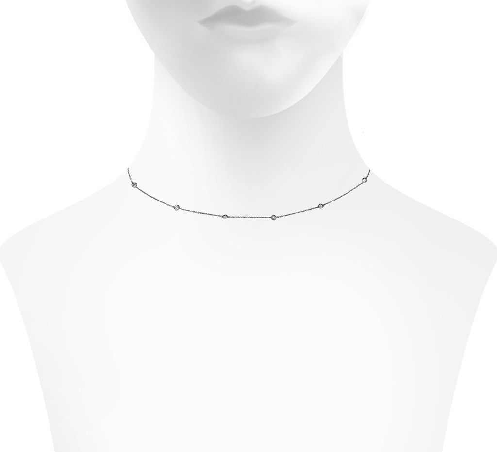 Gunmetal Plated Shown on Neck
