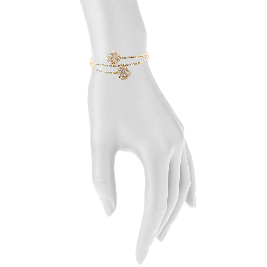 Yellow Gold Plated Shown on Arm