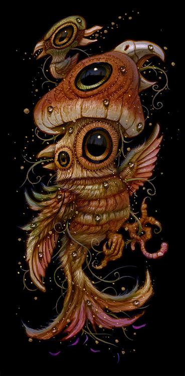 Shroom Bird 08