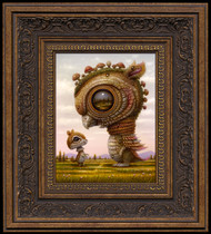 Meet Fungus Dragon framed