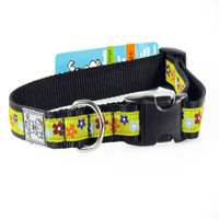 "Rc Pet Products Clip Collar - ""Funky Flowers"""