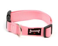 Smoochy Poochy Nylon  Collar - Baby Pink