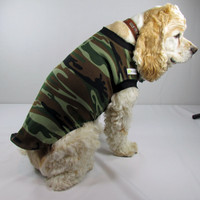 Poochtini Army T-Shirt