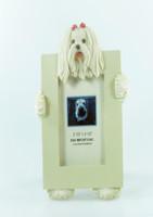 E&S Imports Small Dog Frame - Maltese