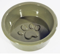 Ore Pet Large Paw Bowl Moss