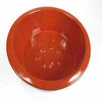 Ore Pet Large Paw Bowl Red