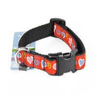 Rc Pet Products Clip Collar - Whimsy Hearts