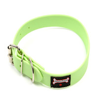 Smoochy Poochy Waterproof  Collar- Mint  (Leather Alternative Material)