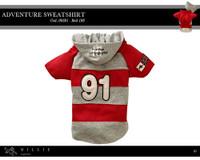 Millie Signature Adventure Sweatshirt - Red