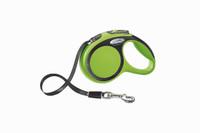 Flexi New Comfort Tape Retractable Leash - Green