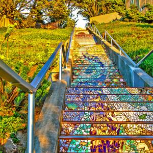 Mosaic Stairs // CA051