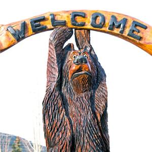 Welcome Bear // DEN112