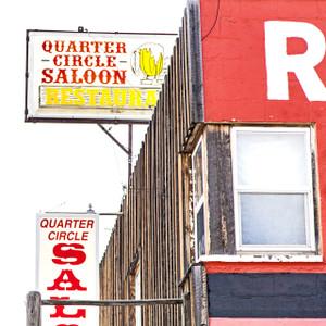Quarter Circle Saloon // DEN149