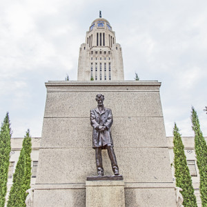 Lincoln Statue // NE018