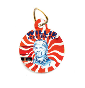 Willie for President Pet Tag // PET179