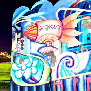 Baton Rouge Blimp // LA003