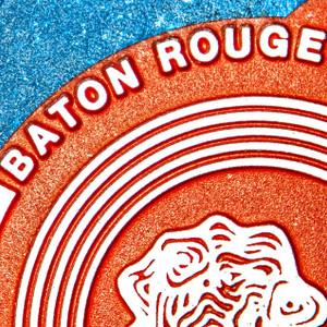 Baton Rouge Red & Blue // LA009