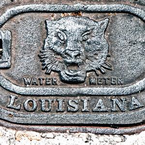 Louisiana Manhole // LA025