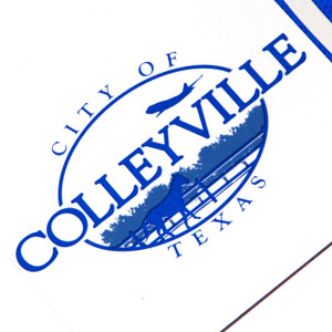 City of Colleyville Blue // DTX322