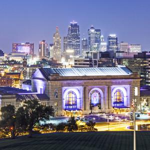Kansas City Skyline // MO109