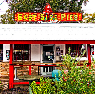 Eastside Pies- Coaster