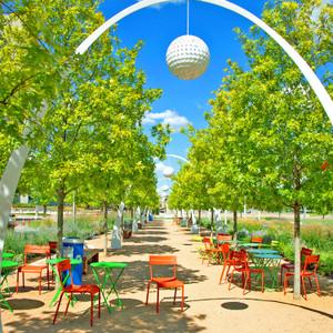 Klyde Warren Park Chairs // DTX017