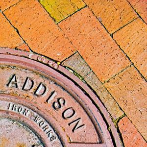 Addison Manhole // DTX229