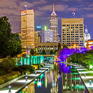 Indianapolis Skyline // IND018