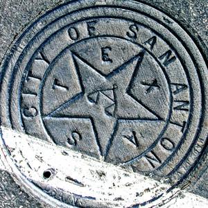 San Antonio Texas Manhole // SA071