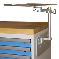 Toolbox Mount with laptop tray