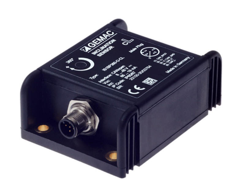 Gemac Chemnitz Combined Acceleration Sensor And Gyroscope With SAE J1939 Connectivity