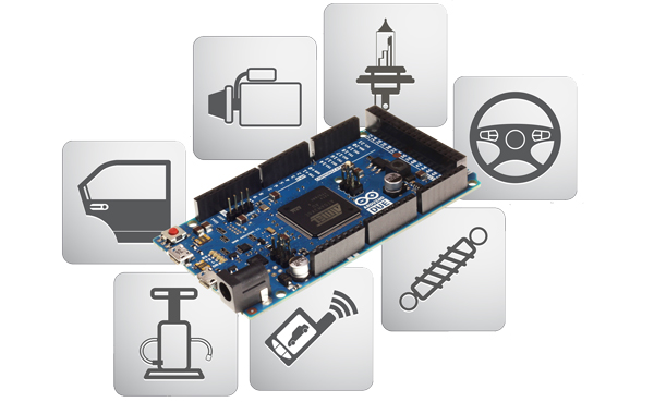 Arduino-Based ECU Development Board With Dual CAN Bus Interface