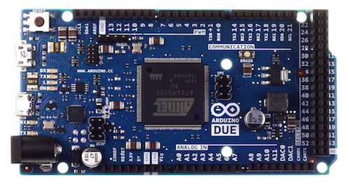 Arduino Due With 32-bit ARM core microcontroller