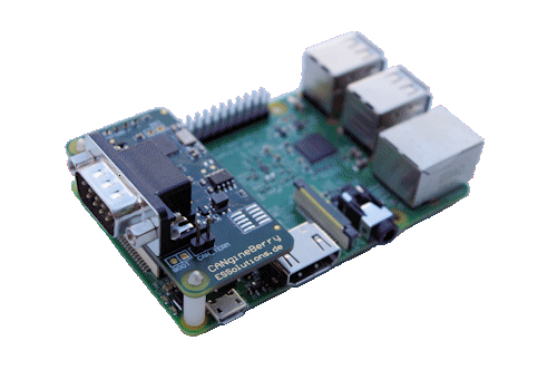 CANgineBerry - CANopen Module for Raspberry Pi