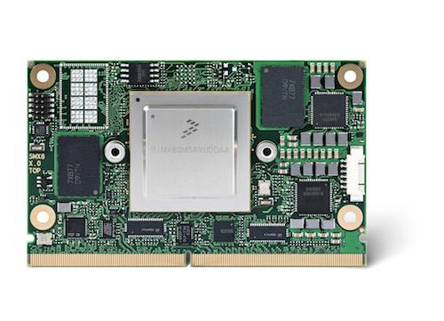 First congatec SMARC 2.0 module with NXP i.MX8 processor