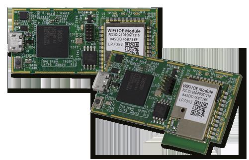 Embedded Artists - LPC54018 IoT module