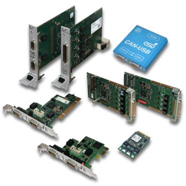 esd electronics - Wide Range of CAN FD Interface Products