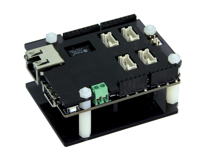 The Mbed Shield is the Mbed application board based on Mbed LPC1768 Prototyping Board