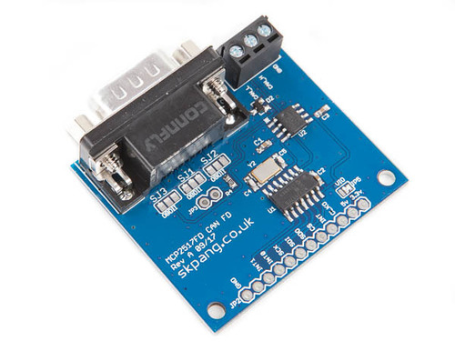 CAN FD Breakout Board With SPI Interface