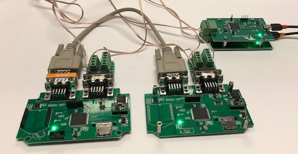 SAE J1939 Bridge Devices With J1939 Data Traffic Simulators
