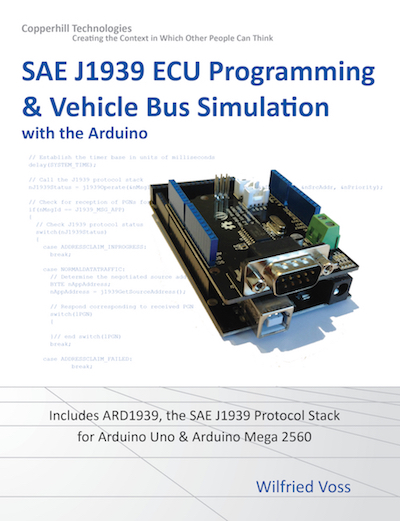 SAE J1939 ECU Programming And Vehicle Bus Simulation With Arduino Uno, Mega 2560, And Due