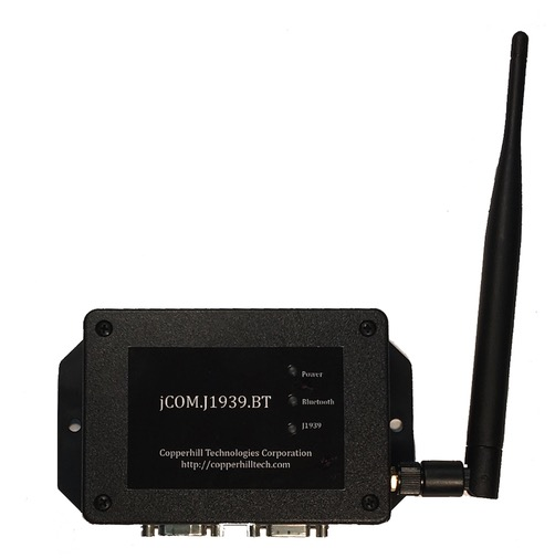 SAE J1939 to Bluetooth Gateway With 9-Pin Deutsch Connection Cable by Copperhill Technologies