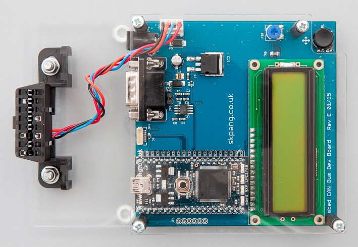 This is a CAN-Bus ECU simulator using the mbed LPC1768 module. Useful for testing OBDII interface and writing diagnostic software.