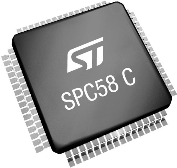 STMicroelectronics SPC58 MCU With CAN FD For Automotive Applications
