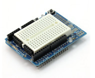 Arduino UNO ProtoShield Prototype Board with Mini Breadboard
