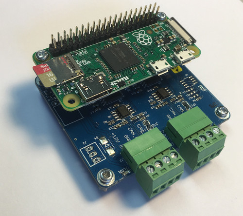 Raspberry Pi Zero With Dual CAN Interface
