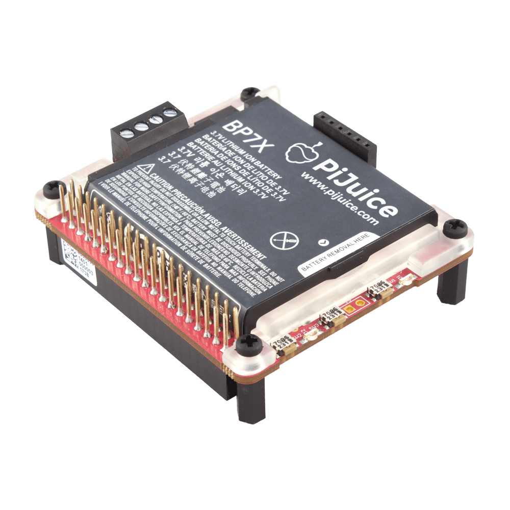 Pijuice Uninterruptible Power Supply For Raspberry Pi Copperhill Basic Circuit