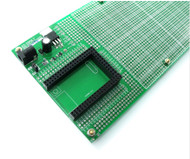 PCB2560 - Prototype PCB Breadboard For Mega2560 Core