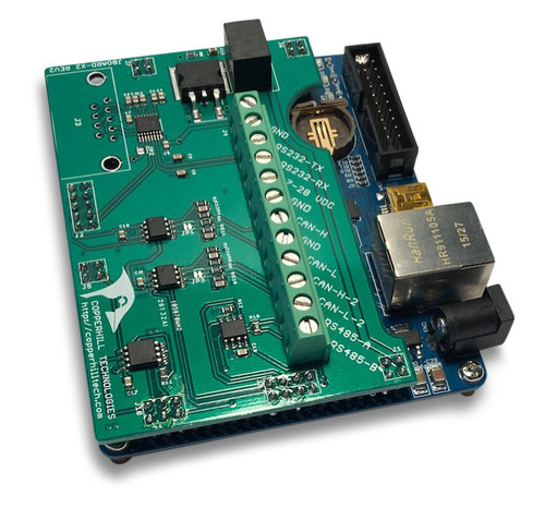 jBoard-X2 - Industrial CAN Bus / SAE J1939 Prototyping Board