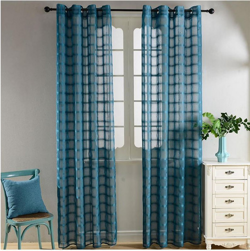 dolce mela sheer curtain panels santa cruz dmc490